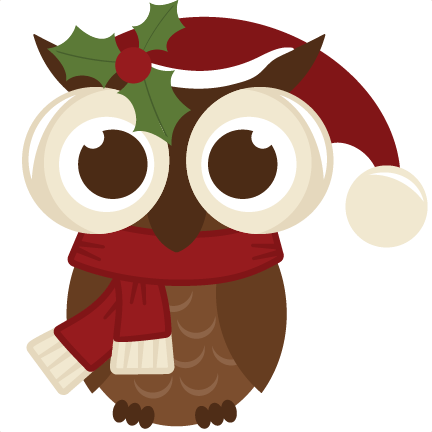 Clip Art Christmas Owl Clip Art cute christmas owl clipart kid digital scrapbooking daily svg freebies clip art