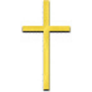 Free Clipart Picture Of Small Gold Cross   Polyvore