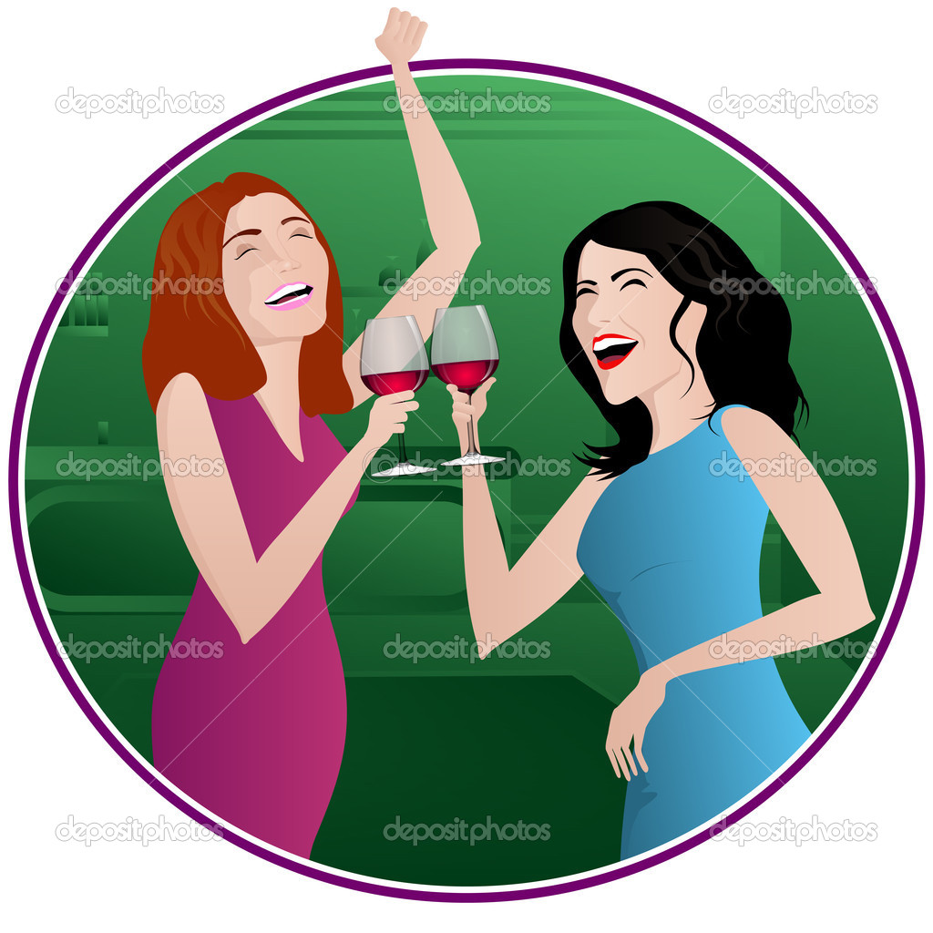 girls drinking alcohol clipart clipart suggest