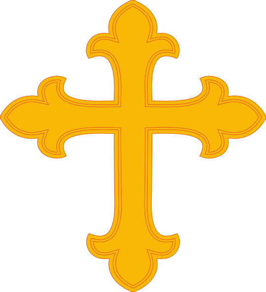 Gold Cross Clip Art At Clker Com   Vector Clip Art Online Royalty