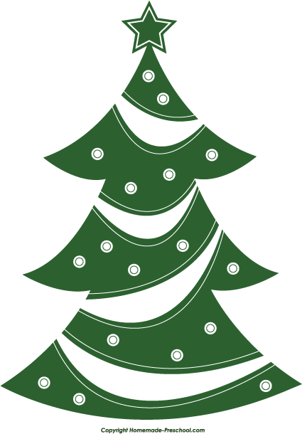 Home Free Clipart Christmas Tree Clipart Christmas Tree Abstract