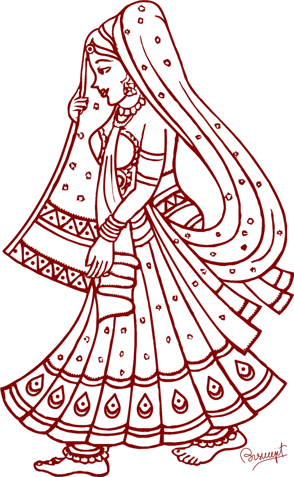 Indian Wedding Clipart   Clipart Best