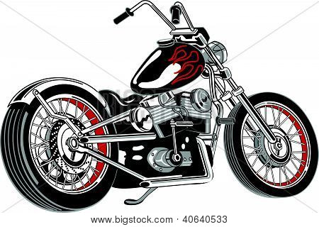 Motorcycle Clipart Stock Vector   Stock Photos   Bigstock