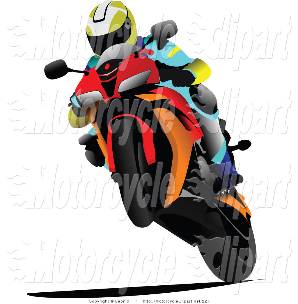 Person Racing Orange