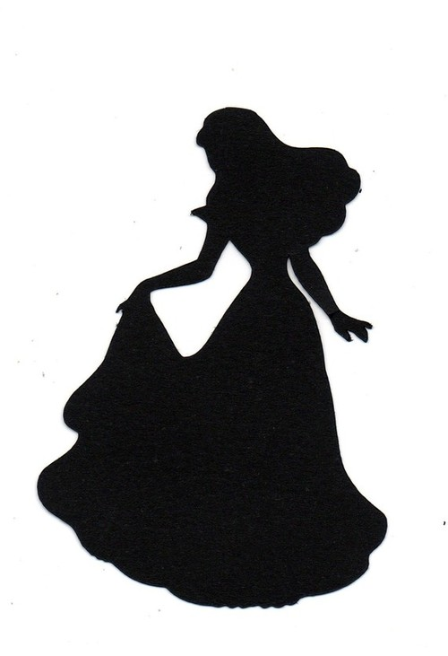 Sleeping Beauty Silhouette Princess Silhouette And