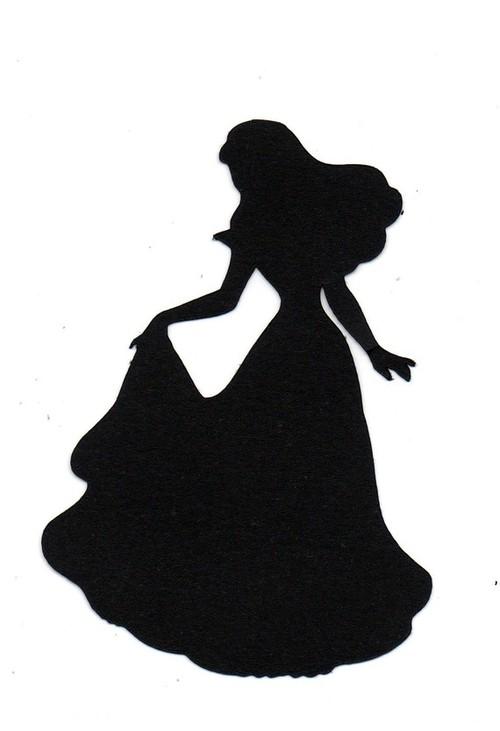 Princess Silhouette Clipart Clipart Suggest