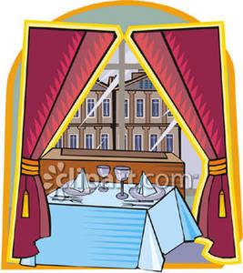 Restaurant Table Clipart - Clipart Kid