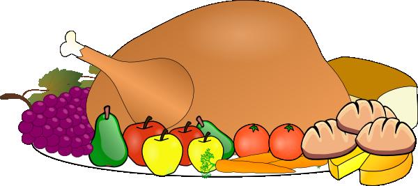Thanksgiving Spread Clip Art At Clker Com   Vector Clip Art Online