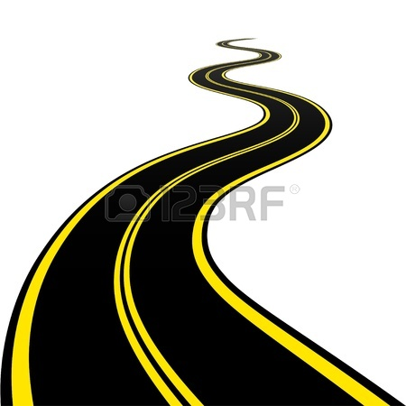 Winding River Clipart Winding Road   Winding Road