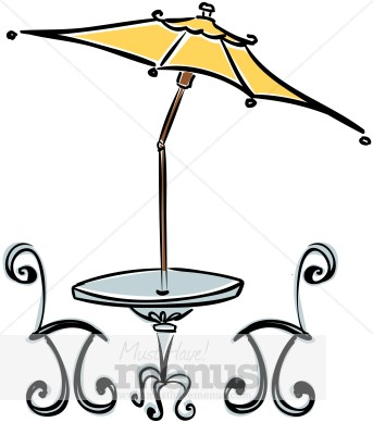 Word Jpg Png Tweet Cafe Table Clipart This Beautiful Cafe Style Table
