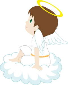 Boy Angel Clipart - Clipart Kid