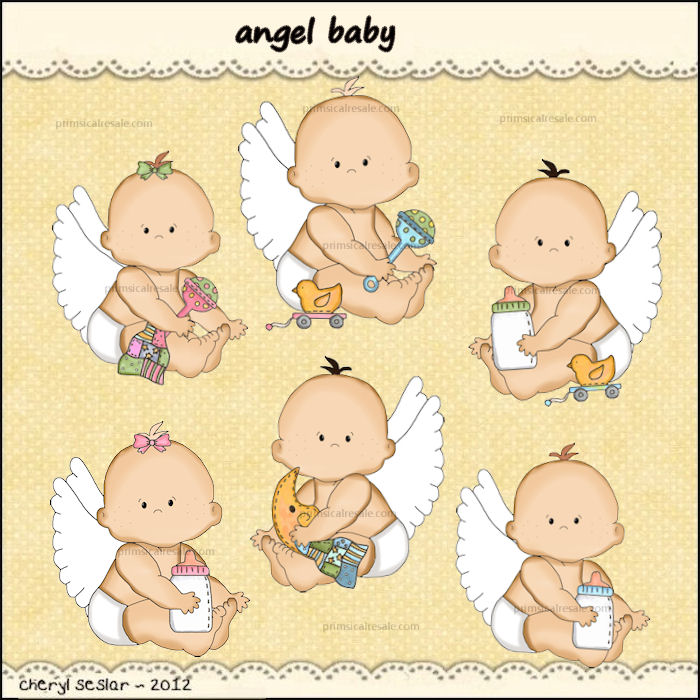 Baby Boy Angel Clipart Angel Baby Larger Image