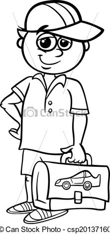Black And White Elementary School Clipart Vector   Grade School