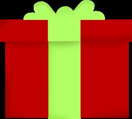 Cute Christmas Present Clipart - Clipart Kid
