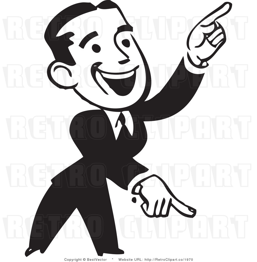 Person Pointing Clipart - Clipart Kid