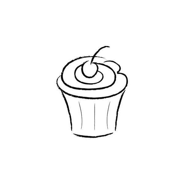 cupcake outline clipart clipart suggest Cricut Cupcake Outline cupcake outline clipart free