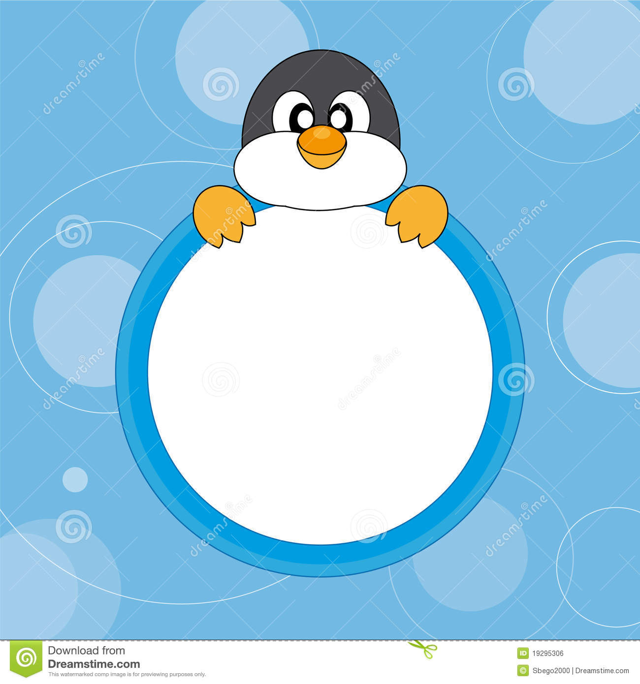 Cute Penguin  Royalty Free Stock Image   Image  19295306