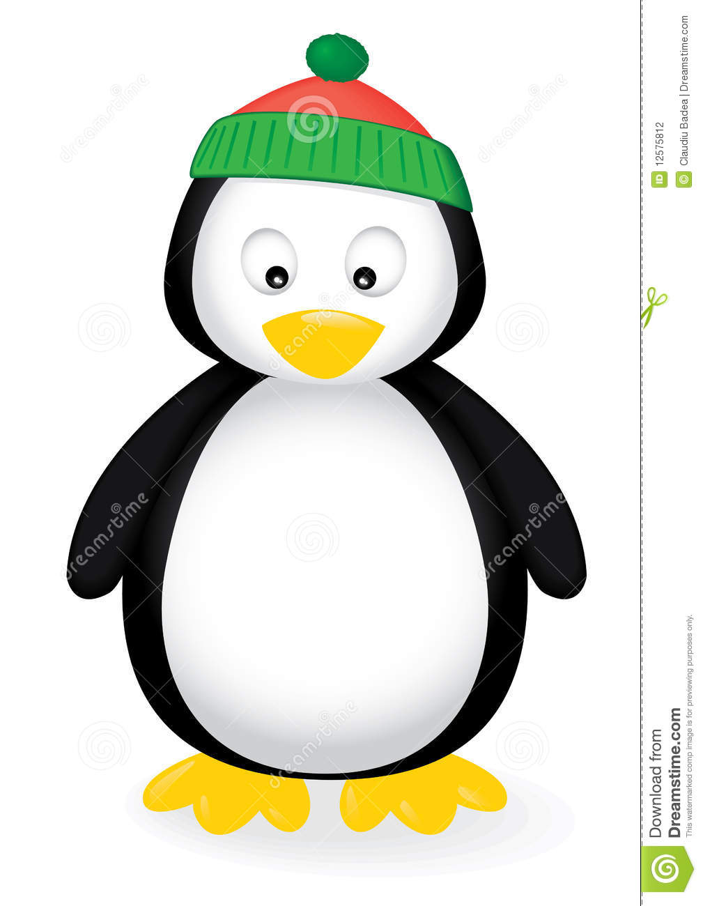 Cute Penguin Stock Photography   Image  12575812