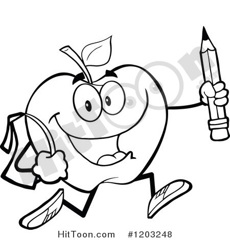 Elementary Math Black And White Clip Art Line Drawing Clipart