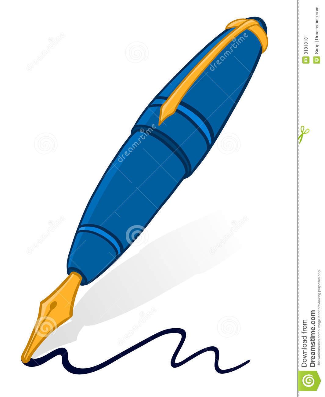 Fountain Pen Clipart - Clipart Kid