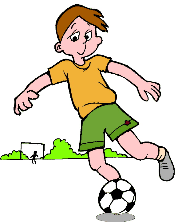 Free Soccer Cartoons Clip Art