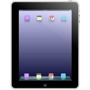 Ipad With Icons Clipart Cliparts Of Ipad With Icons Free Download