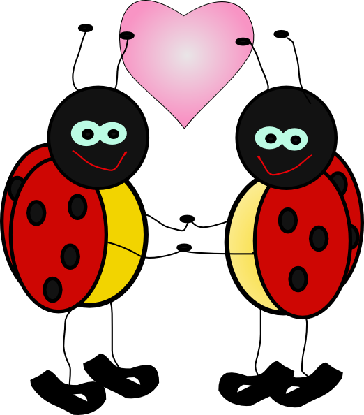 Ladybugs Cartoon Clip Art At Clker Com   Vector Clip Art Online