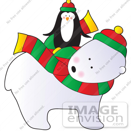 Nothing Found For Preview Large 4479 Cute Cartoon Christmas Polar Bear