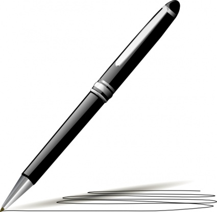 Pen Writing Clipart   Clipart Panda   Free Clipart Images