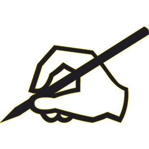 Pencil Writing Clip Art   Clipart Panda   Free Clipart Images