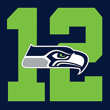 Seahawks 12th Man Logo Seahawks 12th