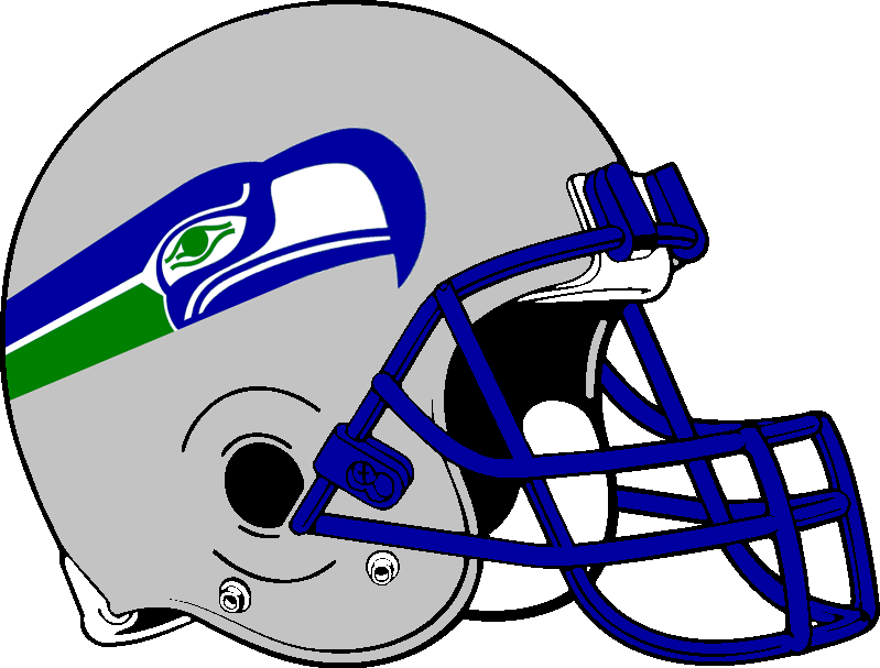 Seattle Seahawks Helmet 1983 2001 By Chenglor55 On Deviantart