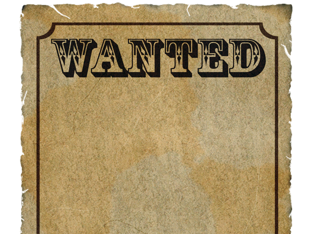wanted border clipart clipart kid