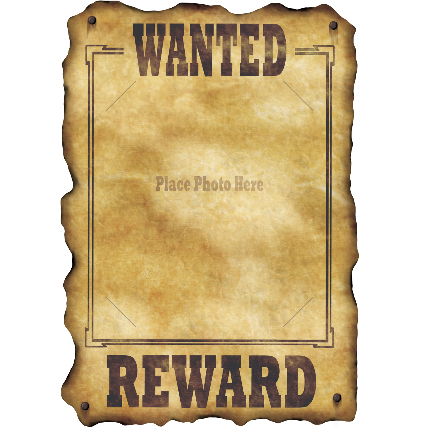 Western Wanted Poster   Code  4313   Scalliwags Costume Hire