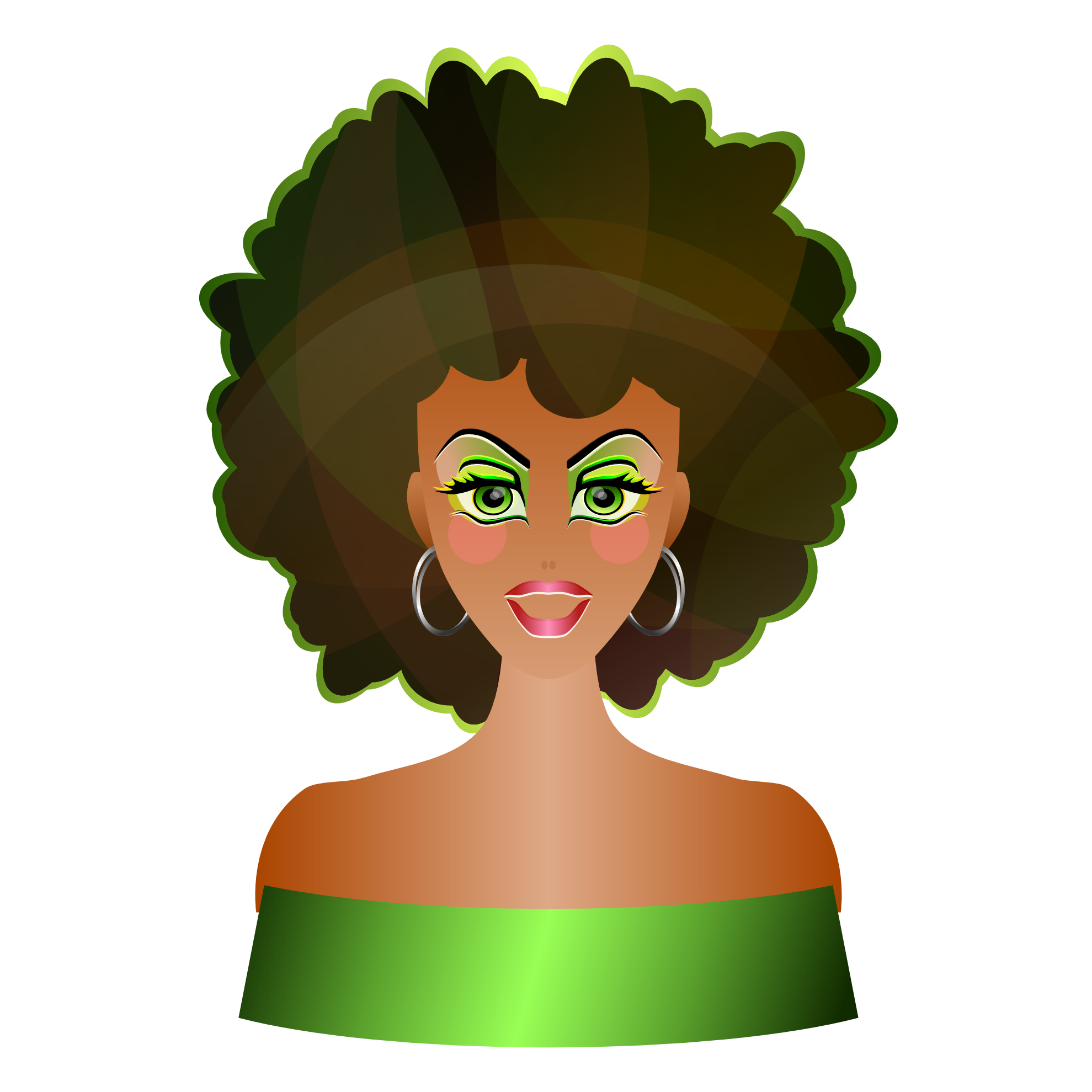 Afro Clipart   Clipart Best