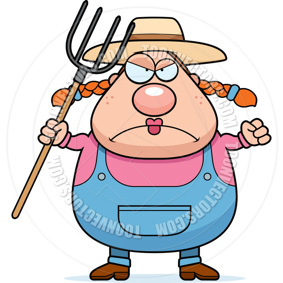 Woman Farmer Clipart - Clipart Suggest