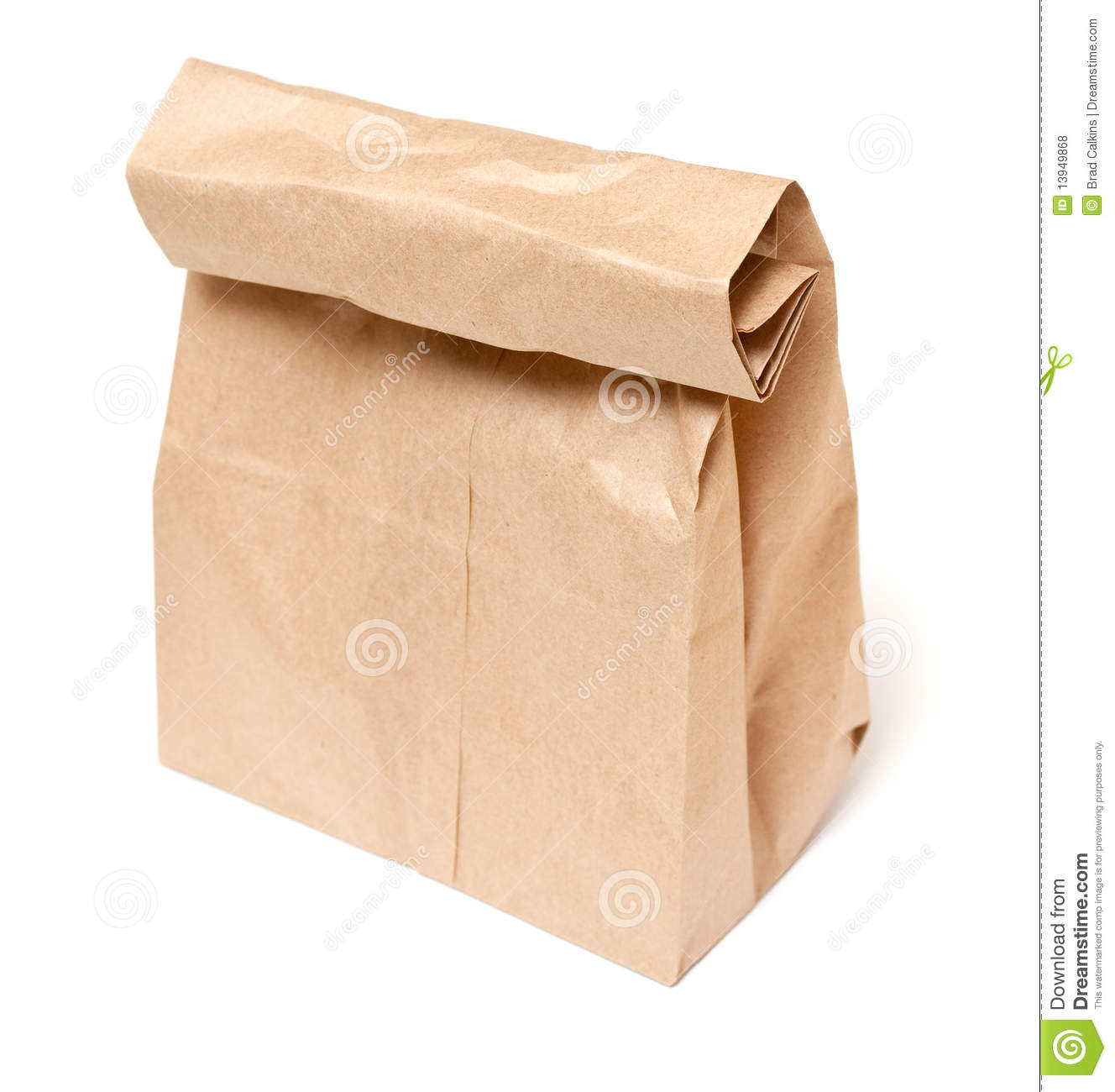 Bag Lunch Royalty Free Stock Photos   Image  13949868