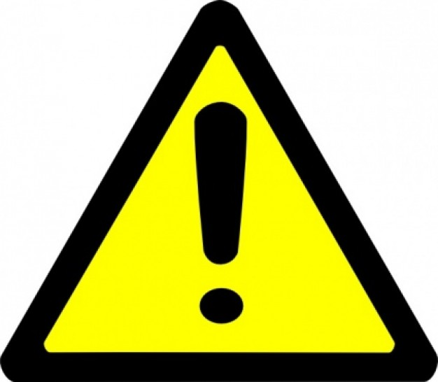 Caution Sign Clipart Clipart Panda Free Clipart Images