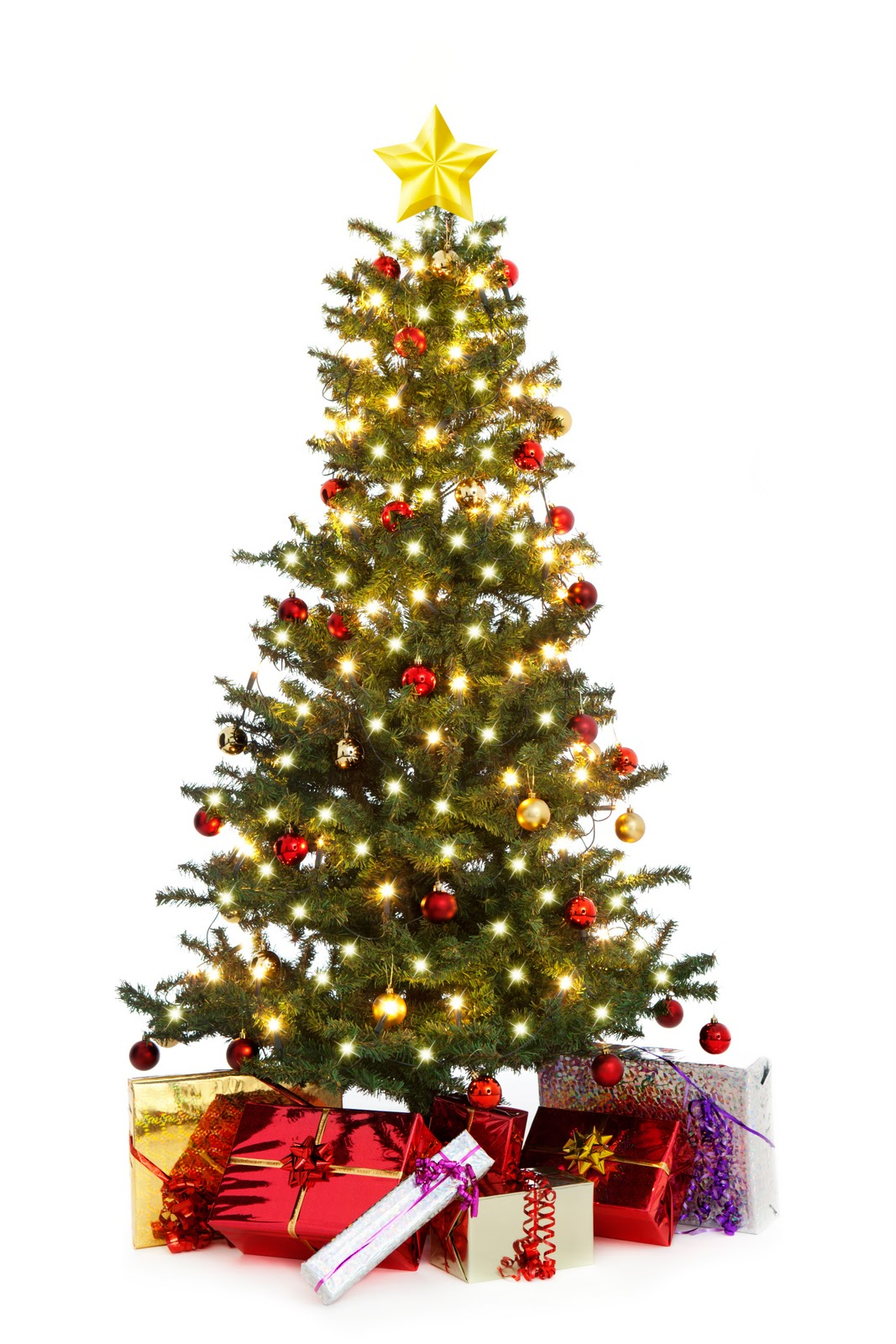 Unique Christmas Tree Clipart - Clipart Suggest