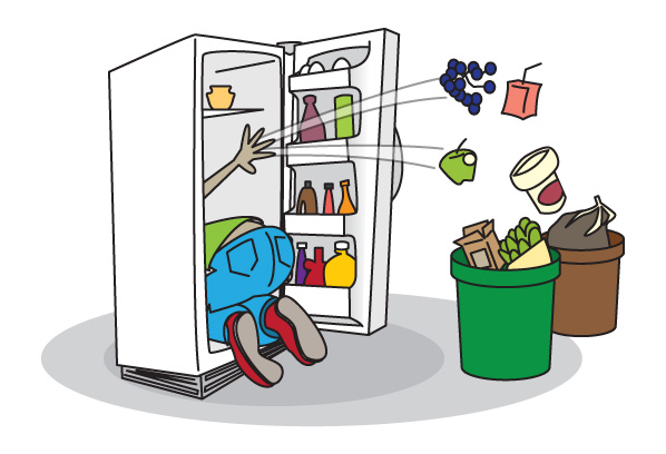 Cleaning Refrigerator Smelly Clipart - Clipart Kid