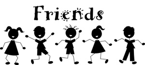 Clip Art Images Friends Stock Photos   Clipart Friends Pictures