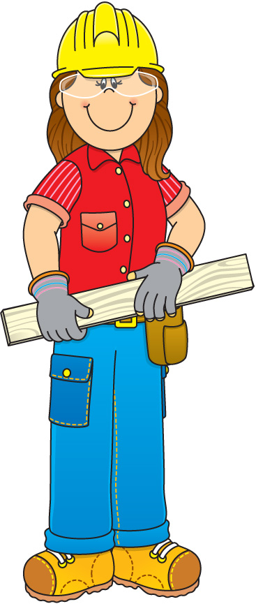Construction Worker Clipart   Clipart Panda   Free Clipart Images