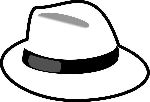 Cat In The Hat Black And White Clipart Clipart Suggest