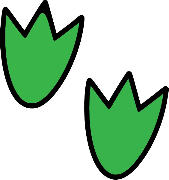 Dinosaur Footprints C Clip Art At Clker Com   Vector Clip Art Online
