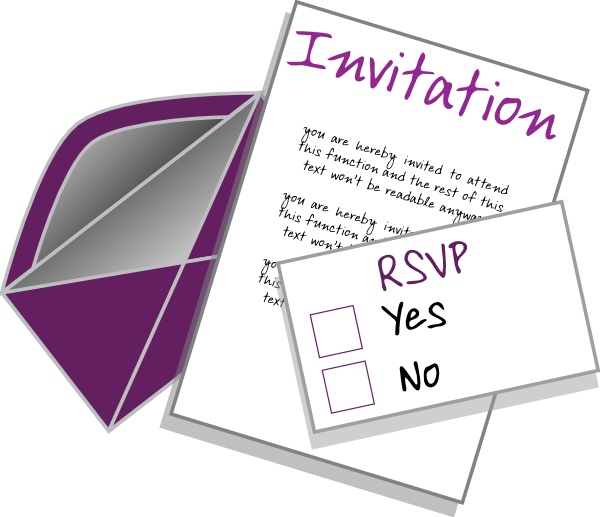 Wedding Invitation Clip Art Download