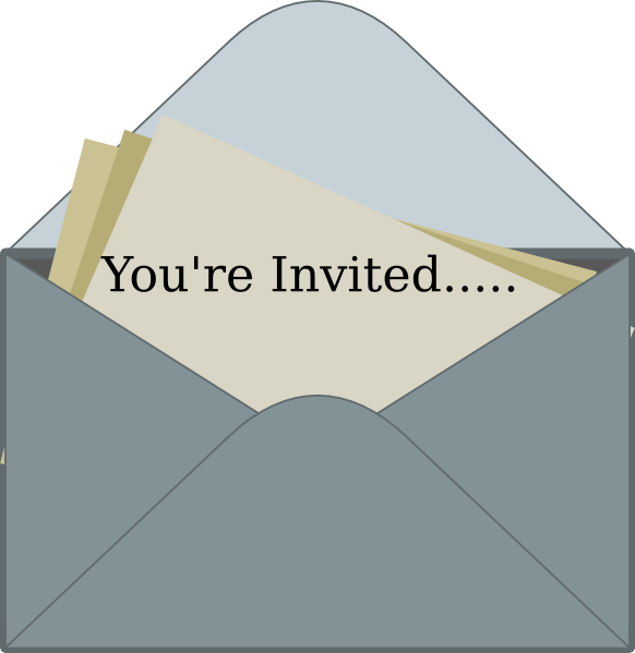 You're Invited Clipart - Clipart Suggest