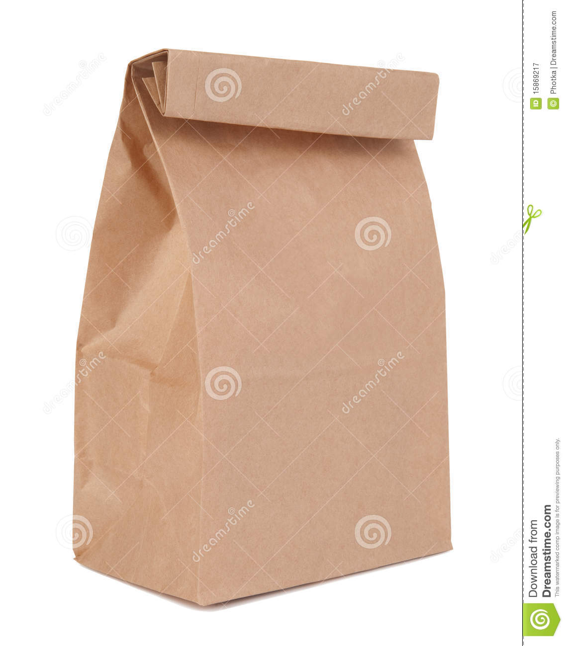Lunch Bag Royalty Free Stock Photography   Image  15869217