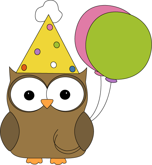 Owl Party Hat Clipart - Clipart Kid