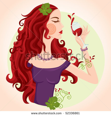 Related Background Of Wine   Illustration Vector Illustration