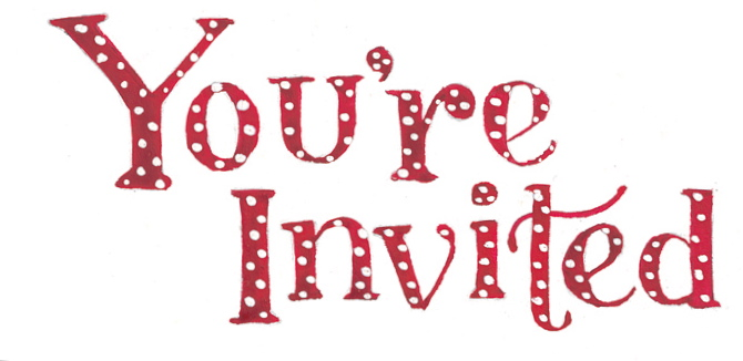 You Are Invited Christmas Clipart Clipart Suggest